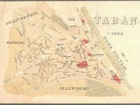 1887, Tabán térkép, 1. kerület
