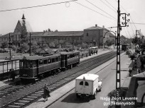 1951, Csepel, Tanácsház (Szent Imre) tér, 21. kerület