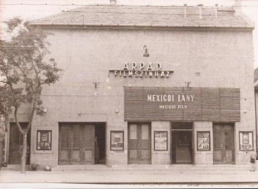 1950-es, 1960-as évek, Marx Károly utca 64. (Grassalkovich út), az Árpád mozi, 23. kerület