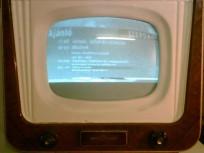 1957-ben gyártott AT501M Orion tévékészülék