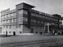 1936, Váci út és a Visegrádi köz (Röntgen utca) sarok, 13. kerület