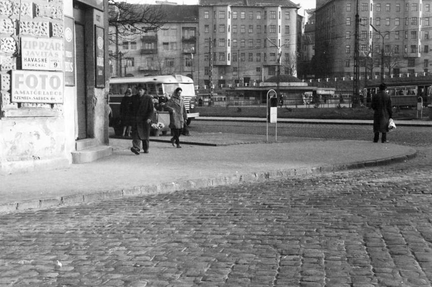 1962, Moszkva (Széll Kálmán) tér, 2. kerület