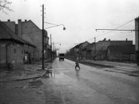 1960, Leányka utca a Pentz Károly (Törley) térnél, 22. kerület