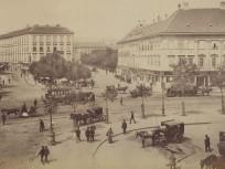 1890-es évek eleje, Deák Ferenc tér, 4., (1950-től) 5. kerület