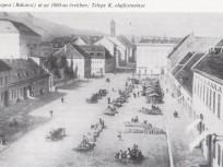 1860-as évek, Kerepescher Strasse (Kerepesi út) (Rákóczi) út, 7. és 8. kerület