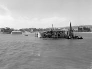 1951, az épülő Petőfi híd, 9. és 11. kerület