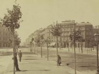 1880 táján, Sugár (Andrássy) út, 6. kerület