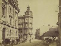 1880-táján, Ferenciek tere, 4. (1950-től) 5. kerület
