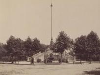 Az 1890-es évek eleje, (a későbbi) Hősök tere, 14. kerület