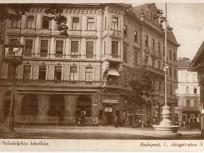 1920-as 1930- as évek, Alagút utca, 1. kerület