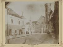 1874 táján, Szentháromság utca, 1. kerület