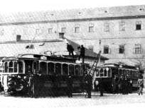 1900 táján, a  Népszínház utca eleje, 8. kerület